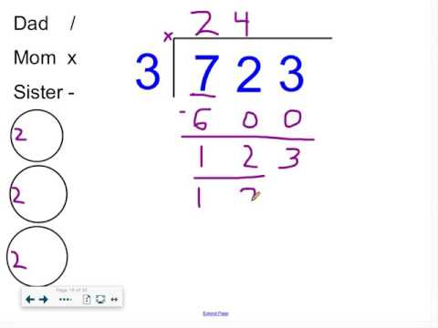 Long Division (3 digit by 1 digit) - Mr. Wolverton