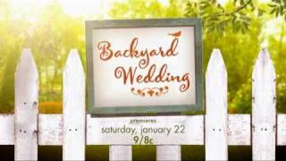 EXCLUSIVE - Backyard Wedding - Hallmark Channel Original Movie - Promo