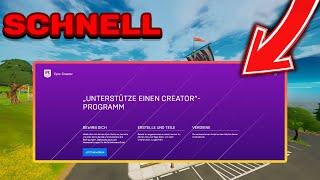 SCHNELL Einen Fortnite Creątor Code Bekommen! | Schnell 1000 Abonnenten bekommen