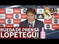 Real Madrid 1 Levante 2 | Rueda de prensa de Lopetegui | Diario AS