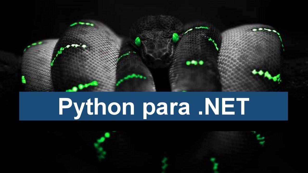 CONHEÇA O IronPython - PYTHON PARA O  NET FRAMEWORK