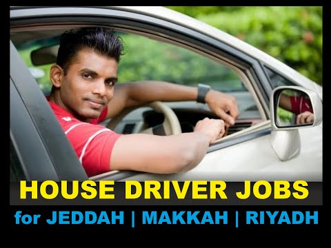 House Driver / Family Driver Jobs in Saudi Arabia