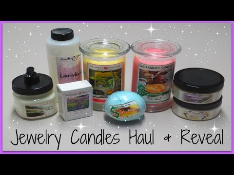 Jewelry Candles Unboxing Haul & Reveal!