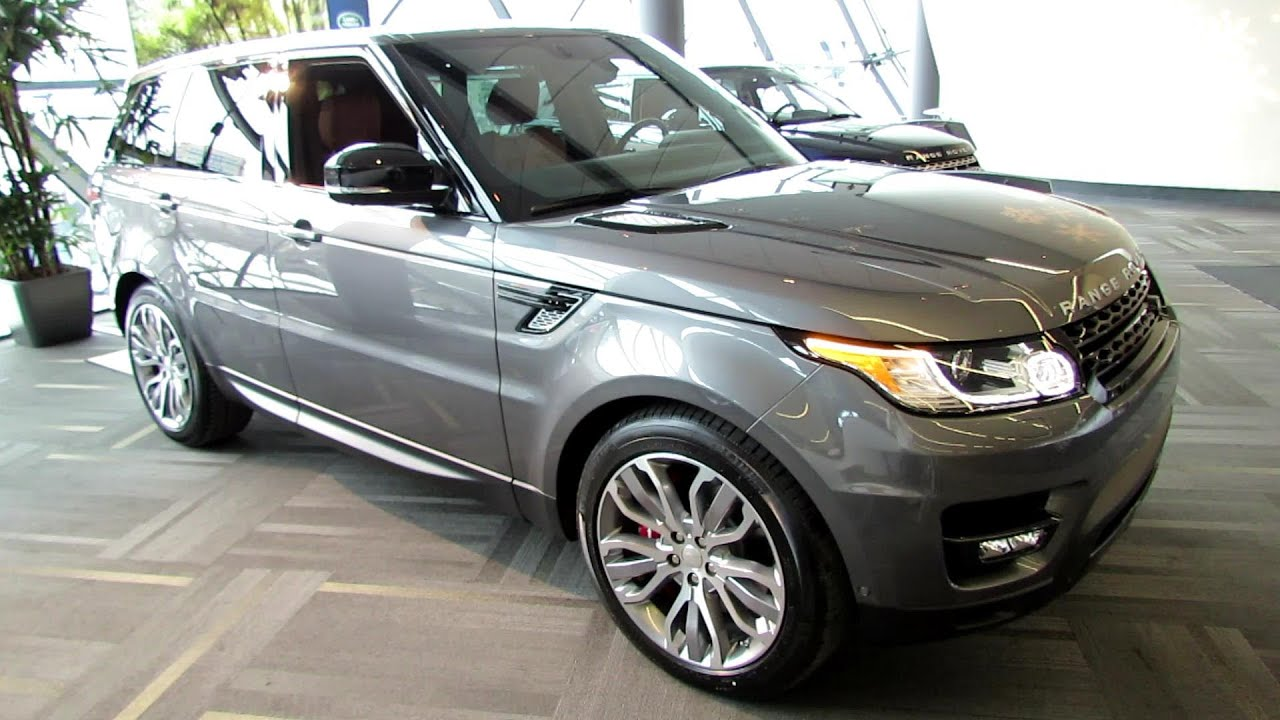 2014 Range Rover Sport Supercharged Exterior Interior