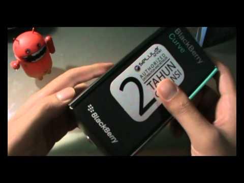 [Unboxing] BlackBerry Curve 9220 (Davis) Bahasa Indonesia.