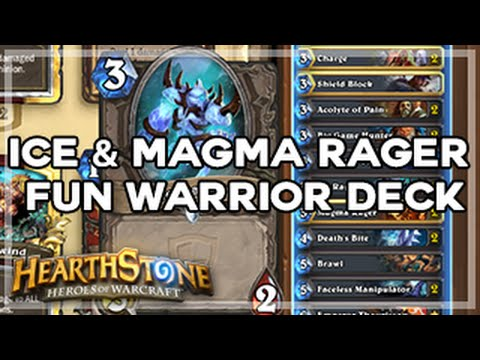 how to build a warrior deck hearthstone