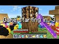 Minecraft UHC but every starting item is RANDOM..