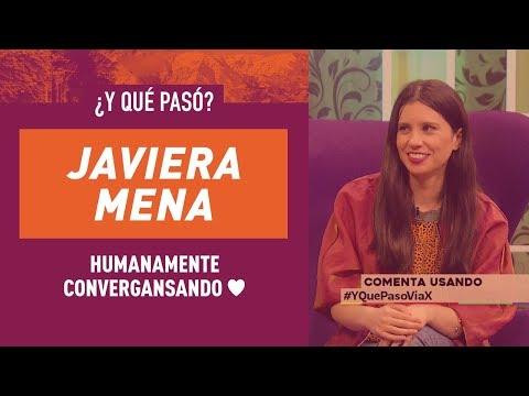 Nos contamos todo con Javiera Mena en ¿Y Qué Pasó?