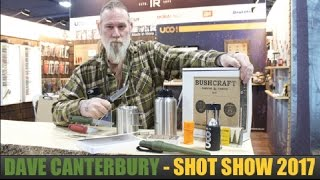 SHOT Show 2017: Morakniv -- Dave Canterbury Explains 3 New Mora Knives & New Bushcraft Survival Kit