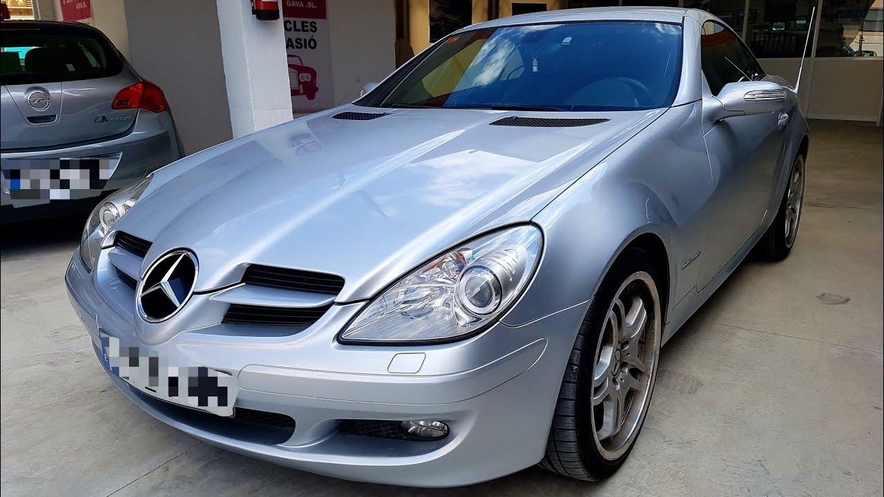 mercedes slk 200 2004 cabrio review espa ol youtube. Black Bedroom Furniture Sets. Home Design Ideas