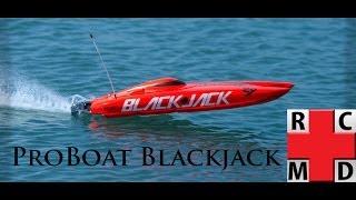 The R/C M.D. - ProBoat Blackjack 29 Catamaran