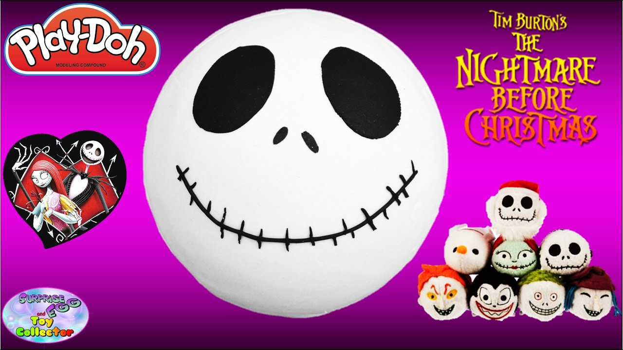 The Nightmare Before Christmas JACK SKELLINGTON Play Doh Surprise ...
