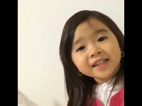 The Cute Baby Saying Good Night I Love You Youtube