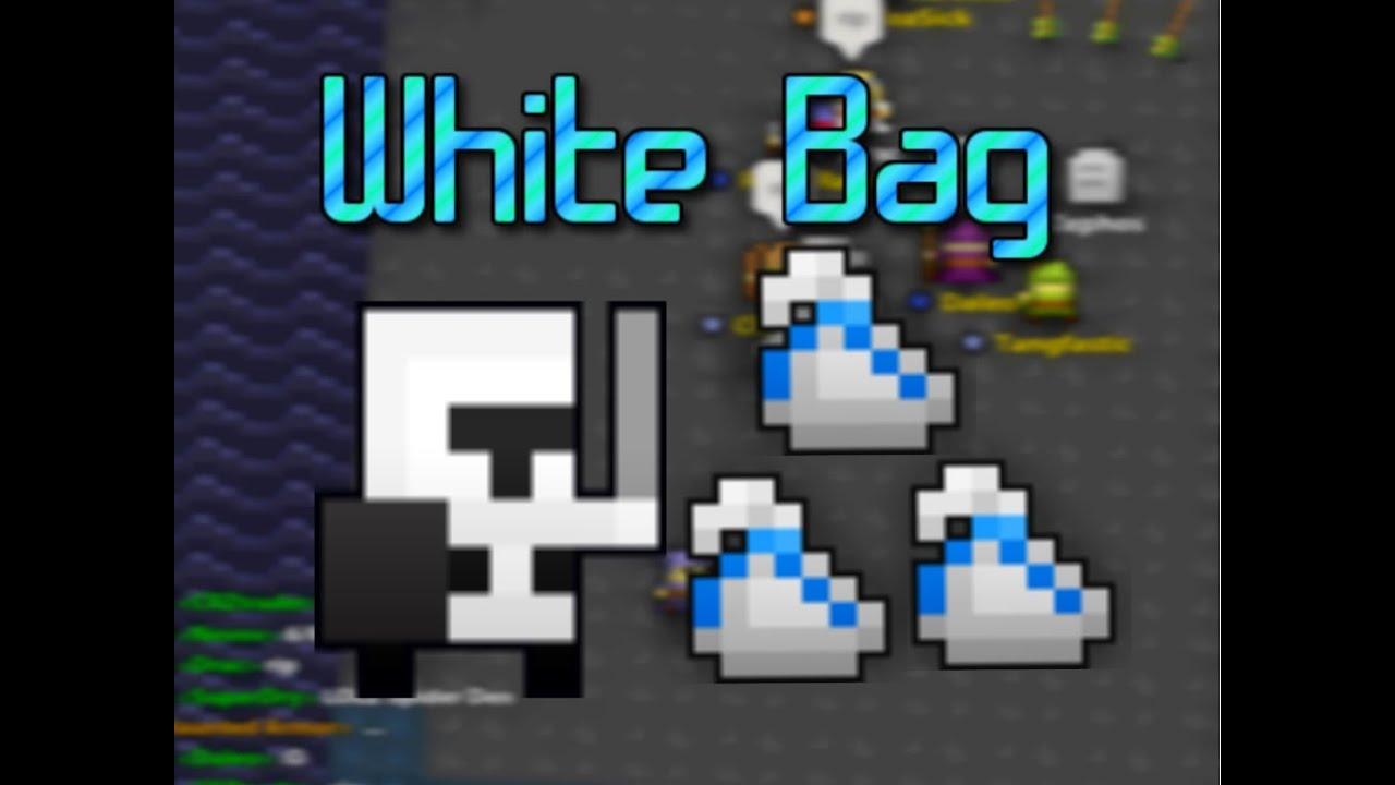 Rotmg White Bag Wallpaper