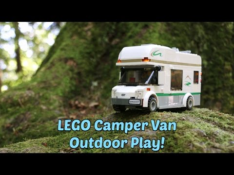 53d70310b212af LEGO in the Great Outdoors  LEGO City Camper Van 60057 - Epic Fun for Kids