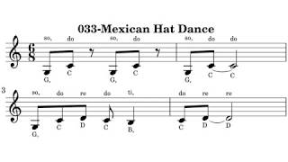 033-Mexican Hat Dance