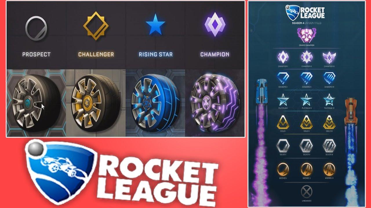 Season 4 Update (Tiers - Rank) + Season 3 Rewards ...