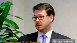 Mark Goodenow, BDO Consulting,  Landscape Still Rough for Automotive Suppliers