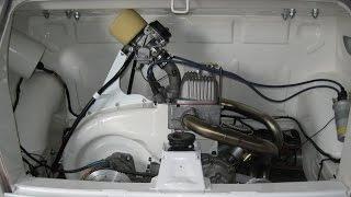Fiat 126p gaźnik Mikuni z Kawasaki ZX6R