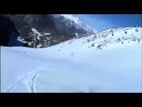 Henri oreiller snowboarding Taos New Mexico Avalanche Clearing