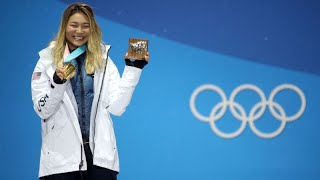 Winter Olympics 2018 -- Chloe Kim will capitalize on endorsements herself when she turns 18