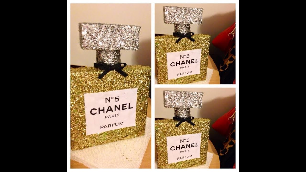 DIY With V Chanel Perfume Room Decor Inspired By LifeannStyle