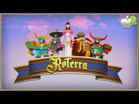 ROTERRA : Flip The Fairytale - NEW Relaxing Puzzle Game Set In A World Of Cubes ANDROID & iOS 2019