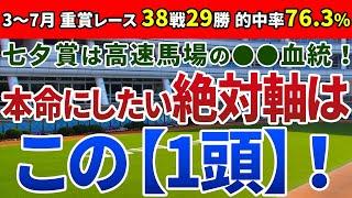 七夕賞2020 は高速馬場の●●血統!本命にしたい絶対軸は【この1頭】