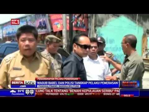 Wagub Bangka Belitung Tangkap Pelaku Pemerasan