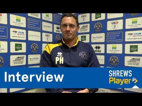 INTERVIEW | Paul Hurst on training - Town TV