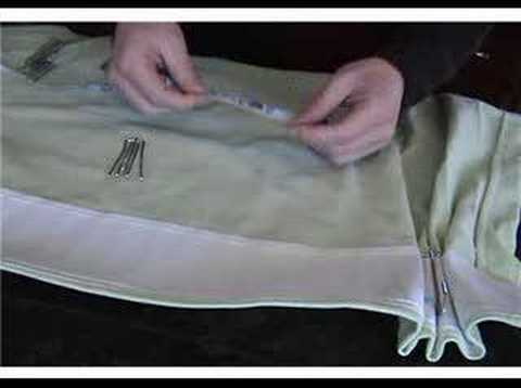 How To Use 4 Prong Drapery Hooks To Create French Pleats Youtube