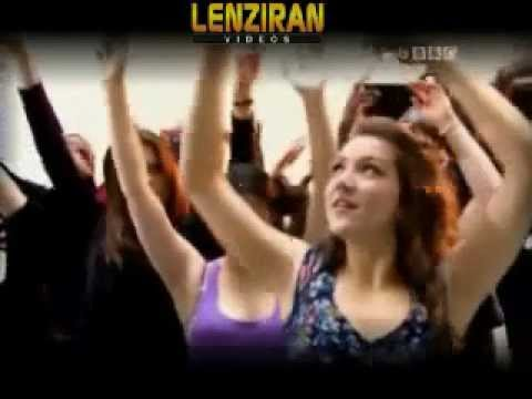 BBC Persian TV staff dancing and congratulating  Iranian new year , Nowrooz