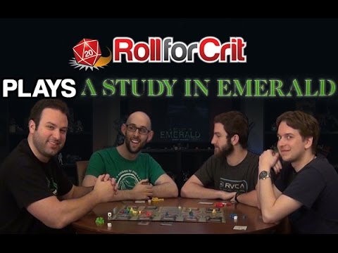 Elementary, My Dear Cthulhu | A Study in Emerald | Roll For Crit Playback