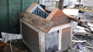 Как сделать отопление в будке Ч.1 (теплая будка для собаки )