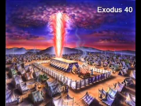 Exodus 40 (with text - press on more info. of video on the side) : moses tent of meeting - memphite.com
