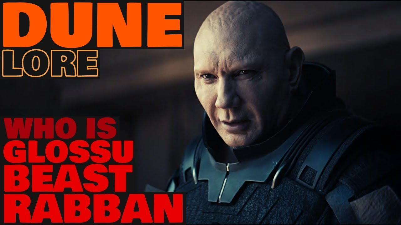 Dune Lore Who Is Glossu Beast Rabban Harkonnen Dune 2020 Youtube