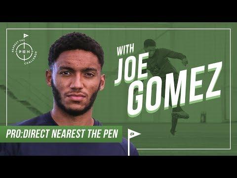 Joe Gomez   Pro Direct Nearest The Pen Challenge