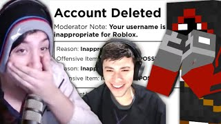 BadBoyHalo, George and Quackity Get Banned On Roblox