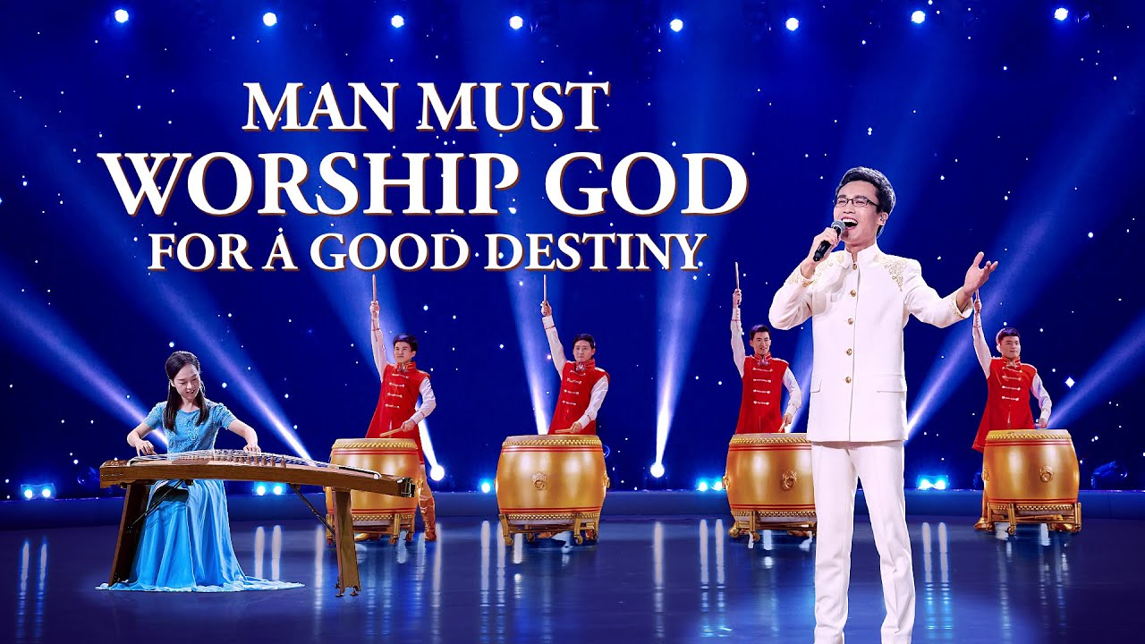 """""""Man Must Worship God for a Good Destiny"""" 