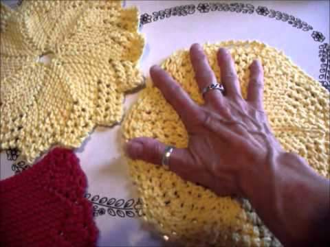 Knit Dishcloths Youtube