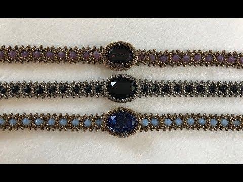Interlace Bezel Bracelet