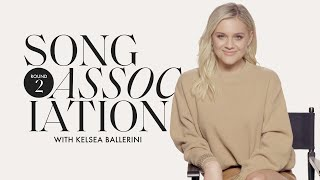 Kelsea Ballerini Sings Justin Bieber, Taylor Swift, Cher in a Game of Song Association | ELLE
