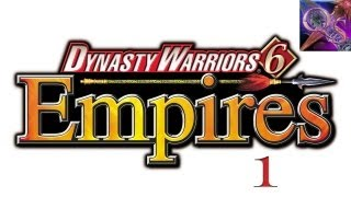 Drew and Lewis Play Dynasty Warriors 6 Empires (Part 1)