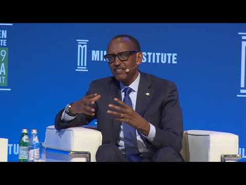 Conversation with President Kagame and Mike Milken at MENA Summit | Abu Dhabi, 13 February 2019