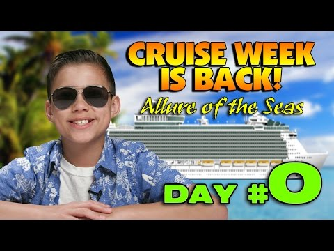 NEW CRUISE ADVENTURE!!! Get Me To The Ship on Time! [CRUISE WEEK DAY 0]