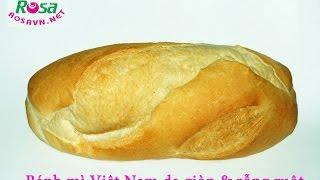 Người nước ngoài làm Bánh mì Việt Nam