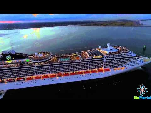 MSC Splendida - Dublin - August 2015 - Cruise ship - DJI Phantom 3