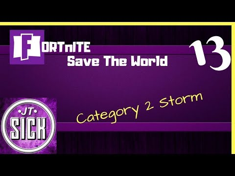 Fortnite: Gameplay Ep.13 - Fight Category 2 Storm