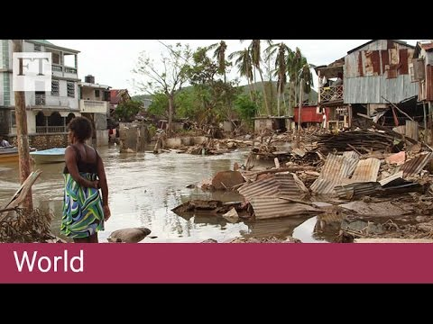 Haiti struggles post hurricane