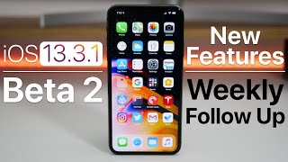 iOS 13.3.1 Beta 2 - Follow Up (2 New Features)